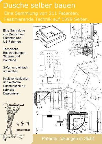 Dusche selber bauen: 211 Patente zeigen wie!