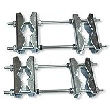 Unitech DRS 89 - Abrazaderas dobles para tubos de hasta 89 mm