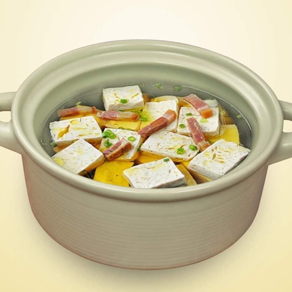 LIUSHI Pot en Terre Cuite Pot en Terre Cuite Pot en céramique Pot en Terre Cuite - Efficacité énergétique nutritif et Savoureux au Lave-Vaisselle capacité 2L Vert Capacity2l