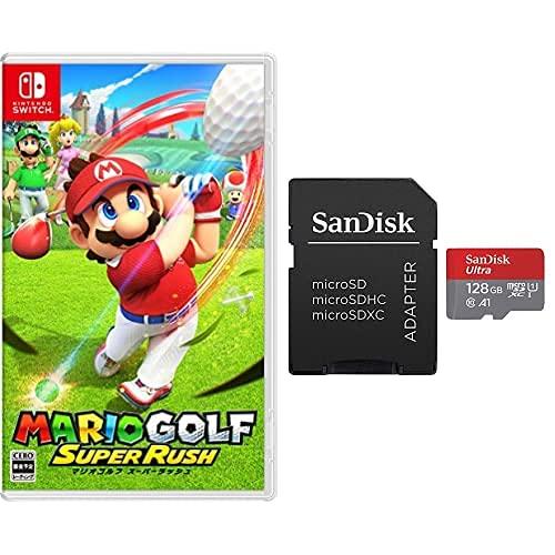 マリオゴルフ スーパーラッシュ -Switch+サンディスク microSD 128GB