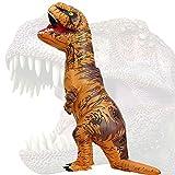 JASHKE Disfraz Dinosaurio Inflable Adulto Traje Dinosaurio Disfraz Trex...