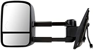 Prime Choice Auto Parts KAPGM1320407 Heated Power Towing Extendable Drivers Left Side Mirror