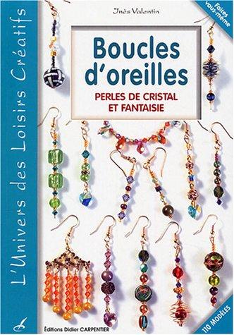Boucles d'oreilles : Perles de cristal et fantaisie