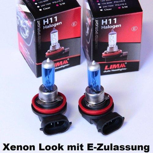 Pratique Double Set. 2/ampoules Phare Ampoule halog/ène Lampe de lampe de voiture Prix de base: 5/EUR//Stk 2/x H11/12/V 55/W Pgj19