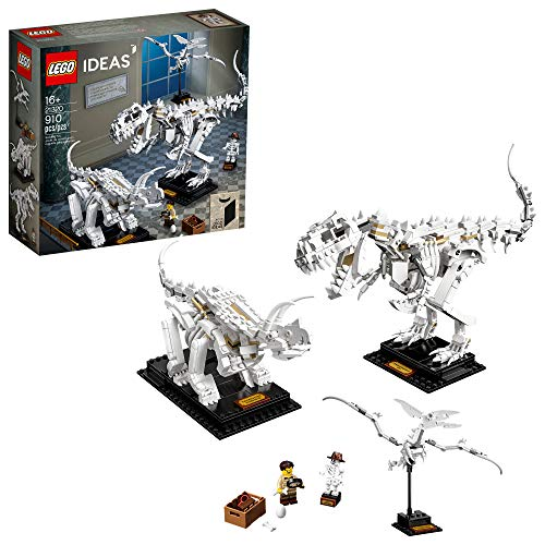 LEGO Ideas 21320 Dinosaur Fossils Building Kit (910 Pieces)