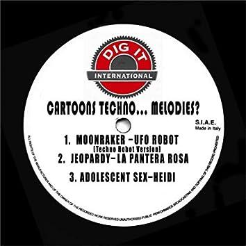 Cartoons Techno... Melodies?