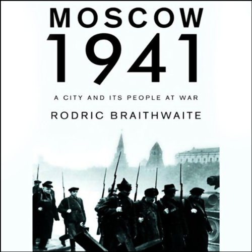 Moscow 1941 audiobook cover art