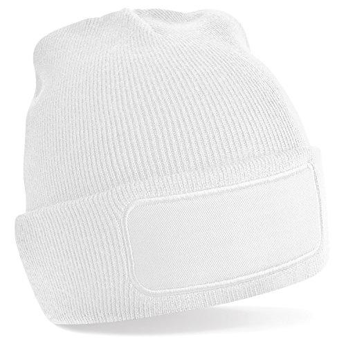 Beechfield - Bonnet tricoté - Homme (Taille Unique) (Blanc)