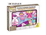 Hecho de madera Puzzle Princesa 40584