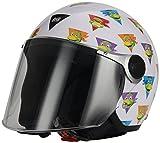 BHR 81645 Casco Demi Jet , Multicolore (Tartarughe Ninja), YS
