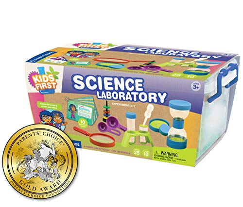 This science laboratory is perfect for STEM birthday gift ideas for a 4 year old girl.