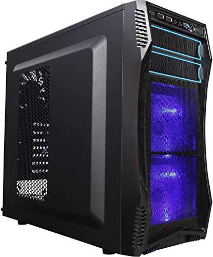 Gaming Computer Custom PC Pre-Built System AMD Ryzen 3200G 4.0 GHz 480GB SSD Gaming LED Tower Windows 10 HDMI WiFi