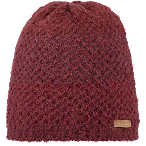 Barts Damen Carolina Mütze, Burgundy, one Size