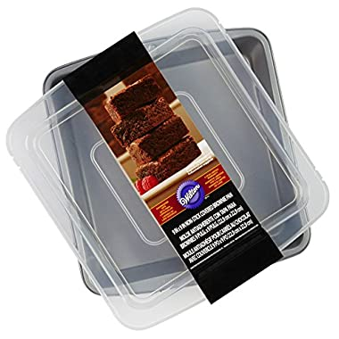 Wilton Covered Brownie Pan, 9 x 9-Inch