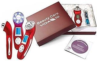 Vida 10 CAVITACION - Beauty Care Maquina de cavitación y ultrasonidos fotónica con 2 GELES DE CAVITACION