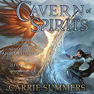 Cavern of Spirits: A LitRPG and GameLit Adventure      Stonehaven League, Book 3              By:                                                                                                                                 Carrie Summers                               Narrated by:                                                                                                                                 Annie Ellicott,                                                                                        Jeff Hays                      Length: 9 hrs and 36 mins     77 ratings     Overall 4.7