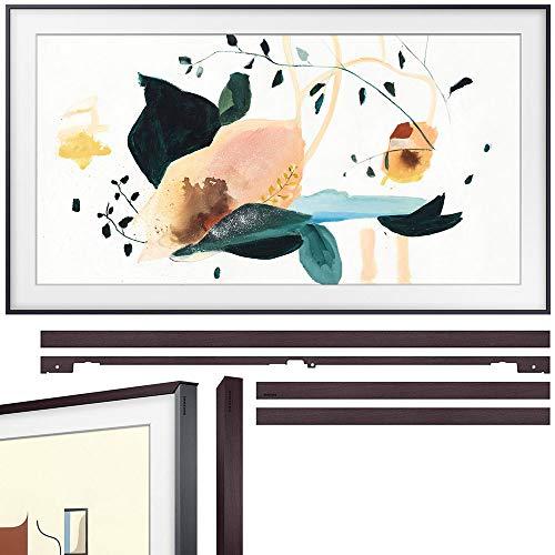 Samsung QN55LS03TAFXZA The Frame 3.0 55 inch QLED Smart 4K UHD TV 2020 Model Bundle with Samsung 55 inch The Frame Customizable Bezel 2020 Brown