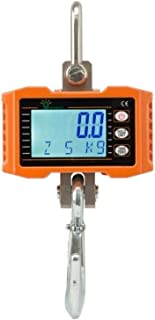 Hyindoor Digital Hanging Scale 1000kg/2000lb Industrial Heavy Duty Crane Scale Smart High Accuracy Electronic Crane Scale