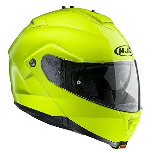 Preisvergleich Produktbild HJC IS-MAX II Aufklappbar Vorne Motorrad Helm - Fluoreszierend,  Large