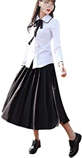ACE SHOCK Japanese School Uniform Adult Women, Halloween Cosplay Costume Suit Long Sleeve