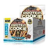 Muscletech Protein Cookies Keks Mit Schokolade Eiweiß Protein Saftiger Cookies (6x 92gr Triple Chocolate)