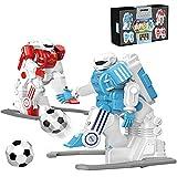 SMUOO Control Remoto Robot Fútbol Americano Jugador Conjunto, Niños Interactivo Robots Acompañantes, Regalos Inteligente Juguete Robótico Educativo para Muchachas