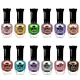 Kleancolor Nail Polish - Awesome Neon Full Size Lacquer Lot of 12-pc Set Body Care / Beauty Care / Bodycare