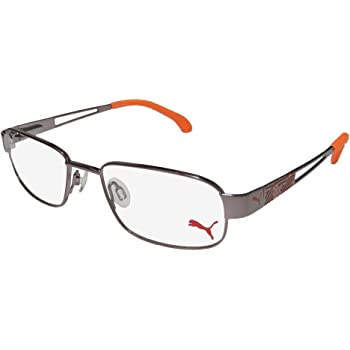 Puma 15419 Mens//Womens Spring Hinges TIGHT FIT Designed for Young Men /& Women Optimal for Sports Eyeglasses//Eyewear