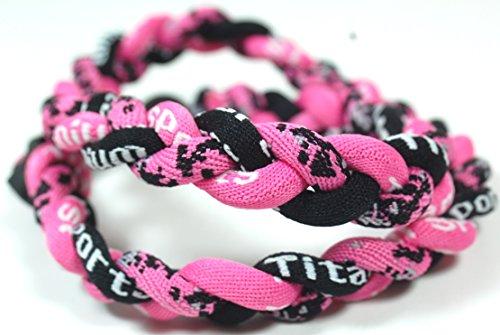 20' Digital Camo Tornado Necklace - Pink Black w/ Case