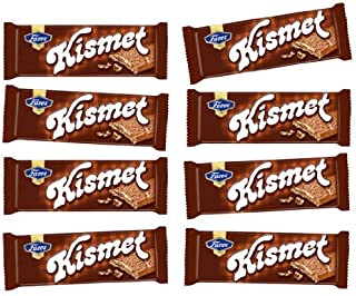 8 Bars of Finnish Fazer Kismet Milk Chocolate Bars Crisp Waffle and Nougat Milk