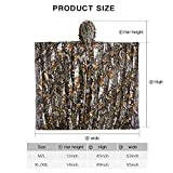 Recensione Tongcamo Caccia Ghillie Suit 3D Foglia Bionica Camouflage Abbigliamento per Giungla Caccia Giungla Fotografia, Bird Watching, Halloween, tiro, 3D Tree Camo Bionic Poncho, XL/XXL(Fit Tall 6.0-6.3ft)