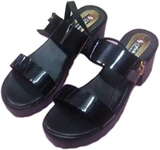 SANDAL HOUSE Articles 587 Black Sandal for Girl