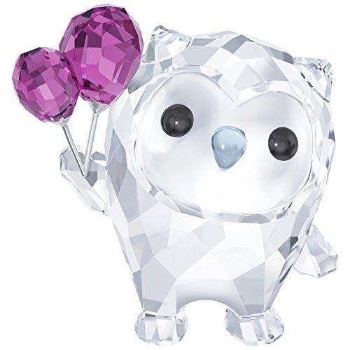 Swarovski Hoot Lass Uns Feiern Cut Crystal Multi Colour 4.1x 3.9x 2.7cm
