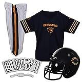 Franklin Sports Chicago Bears Kids Football Uniform Set - NFL Youth Football Costume for Boys & Girls - Set Includes Helmet, Jersey & Pants - Medium