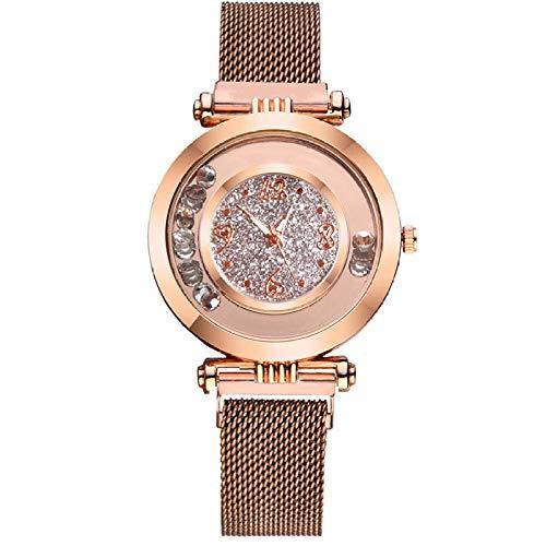 Reloj de Mujer Pulsera Regalo Reloj Estrellado Atmósfera Femenina Bola Reloj de...