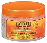 Cantu - Manteca de karité para un cabello natural, crema que define y da brillo, 354 ml, 2 unidades