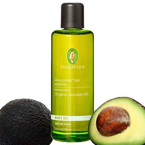 Preisvergleich Produktbild Primavera Bio Öle / Körperöl / Massageöl mit 100 % naturreinen ätherischen Ölen,  Duft:Avocadoöl Bio