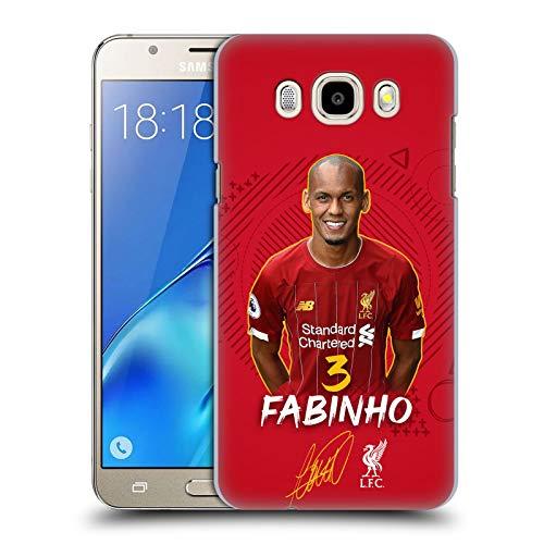 Head Case Designs Oficial Liverpool Football Club Fabinho 2019/20 Primer Equipo Grupo 1 Carcasa rígida Compatible con Samsung Galaxy J5 (2016)