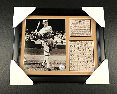 11x14 Framed & Matted Shoeless Joe Jackson 8x10 Photo 1919 World Series Chicago Black Sox