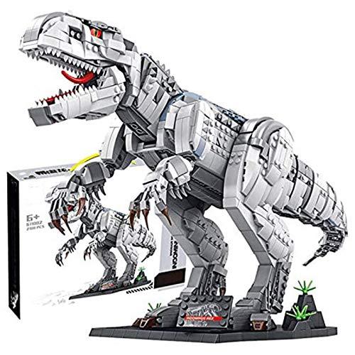 Juego De Construcción De Dinosaurios, Modelo Coleccionable Exclusivo De Indominus Rex, Kit De Construcción De 2108 Piezas Compatible con Lego, El Modelo De Construcción No Es Creado por Lego