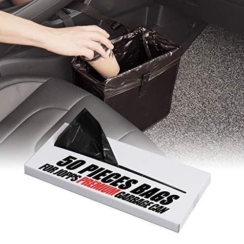 KMMOTORS Jopps Car Garbage Can Patented Car Wastebasket Comfortable Car Mini Organizer (1-1. Jopps Premium Plastic Bags)