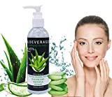 250ml Aloe Vera Gel - Bio Aloe Vera Creme Pure for Body and Face After Sun Care, Ideal für Sonnenbrand Reparieren, trockene strapazierte Empfindliche Haut