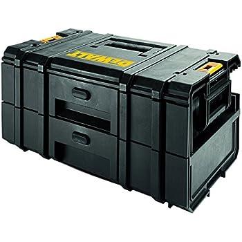 Dewalt DWST1-70728 Cajonera doble DS250: organizador cajón, Negro, Amarillo: Amazon.es: Bricolaje y herramientas