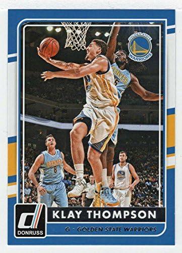 Klay Thompson Basketball Card 2015 16 Donruss Panini 130 MT product image