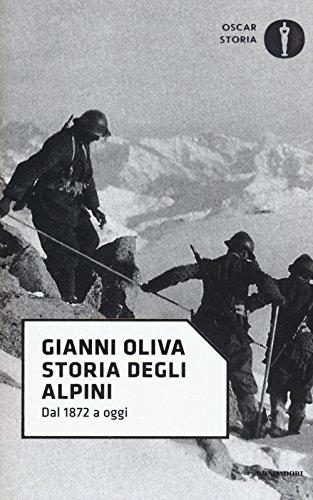 Storia degli alpini. Dal 1872 a oggi
