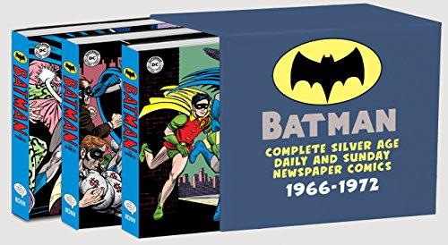 Batman: The Complete Silver Age Newspaper Comics Slipcase Set (Batman Newspaper Comics)