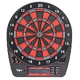 IG Máquina de Dartboard Electrónica Colgando Professional, Indicador de Puntuación Lcd 50 Juegos Y 202 Variaciones con 6Pcs Darts para Unisex Adult,B