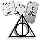 Harry Potter EasyTime UK Adhesivo para Interruptor de luz, Pegatina