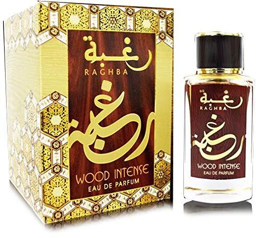 Raghba Wood Intense Edp Spray 100 ml para tabaco unisex similar