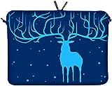 DIGITTRADE LS115-15 Elan Bleu Designer Notebook Sleeve Housse Pour Ordinateur Portable 15,4'...